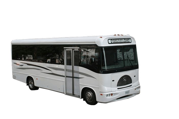 American eagle limousine washington dc limo and partybus for Mercedes benz party bus