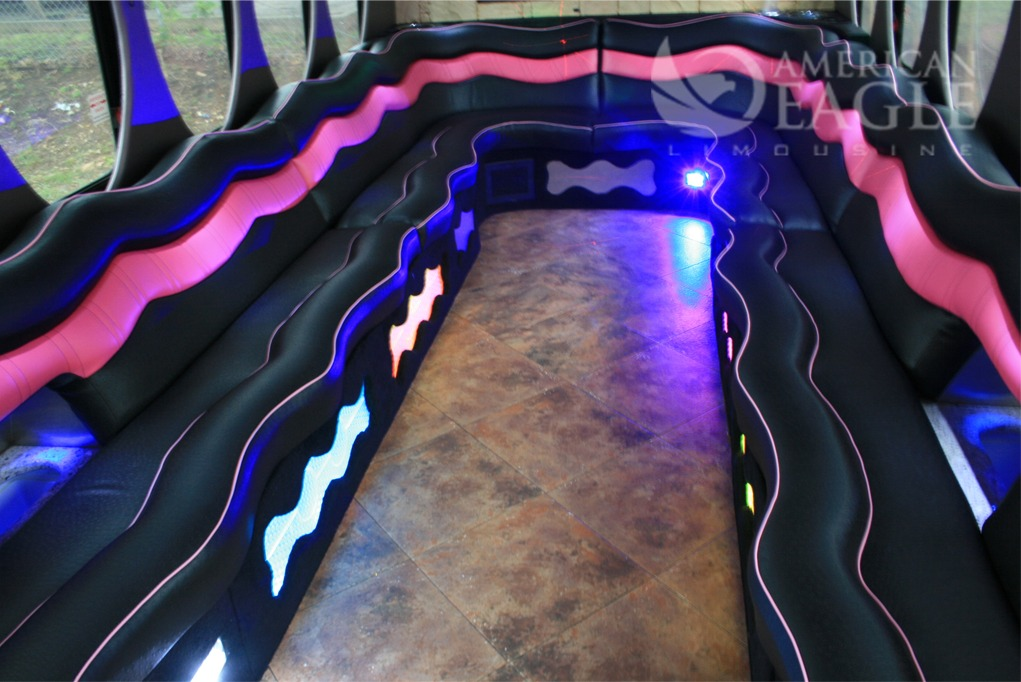 Party Bus MD - Interior